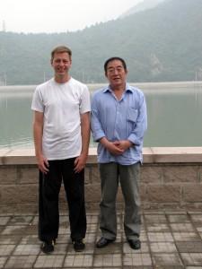 Sun RuXian laoshi und ich in Metougou/Beijing