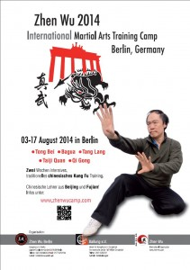 Plakat Zhen Wu Camp 2014