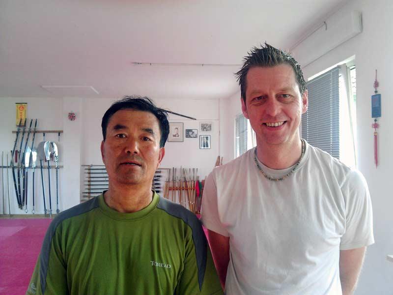 Yu Shaoyi Laoshi und ich