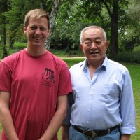 Sun Ruxian laoshi und ich